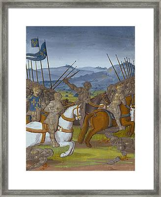 Fouquet, Jean 1420-1481. Grandes Framed Print by Everett