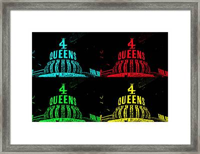 Four Queens Framed Print