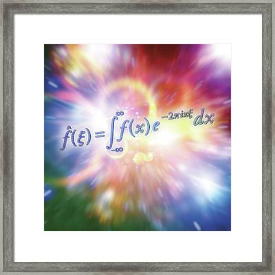 Fourier Transform Framed Print