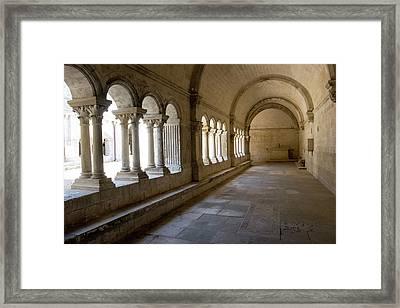 France, Arles, Abbey Of Saint Peter Framed Print