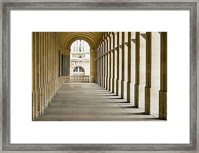 France, Bordeaux, Grand Theatre De Framed Print