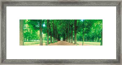 France, Paris, St Cloud Framed Print by Panoramic Images