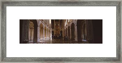 France, Paris, Versailles Framed Print by Panoramic Images