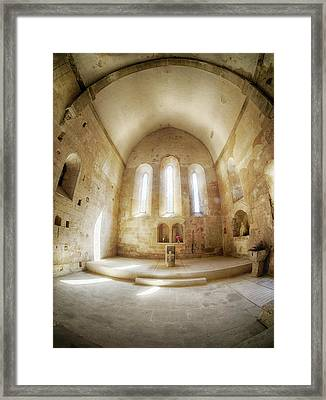 France, Provence, Chapel Of The Small Framed Print