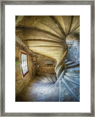 France, Provence, Lourmarin, Spiral Framed Print