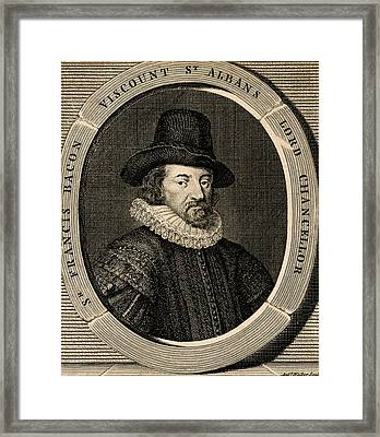Francis Bacon Framed Print by Chemical Heritage Foundation