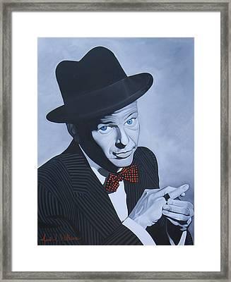 Frank Sinatra Framed Print by Jared Wilkins
