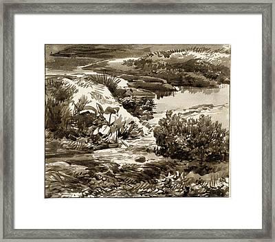Franz Innocenz Josef Kobell German, 1749 - 1822 Framed Print by Quint Lox