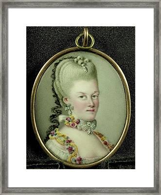 Frederika Sophia Wilhelmina, 1751-1820, Princes Of Prussia Framed Print