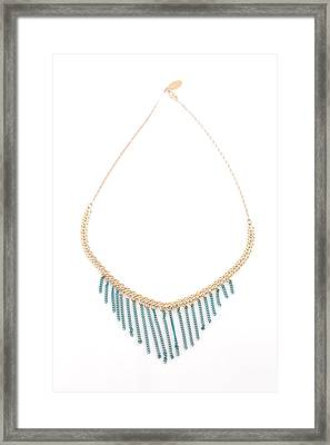 Free Shipping Idit Stern Ancient Royalty Necklace Framed Print by Idit Stern