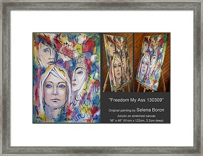 Freedom My Ass 130309 Framed Print