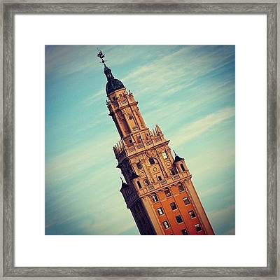 Freedom Tower - Miami Framed Print by Joel Lopez