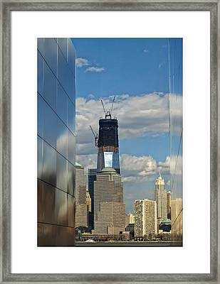 Freedom Tower Framed Print by Wayne Gill