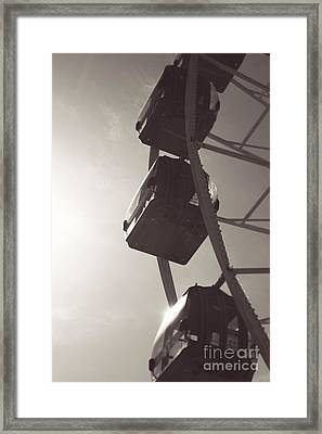 Fremantle Ferris Wheel  Framed Print by Cassandra Buckley