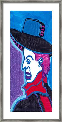 French Actor Bruant Framed Print
