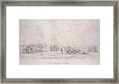 French Artillery Framed Print by British Library