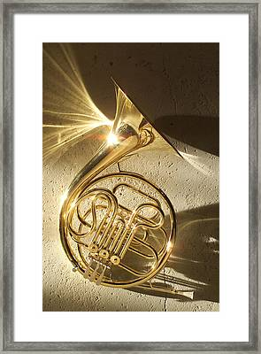 French Horn II Framed Print