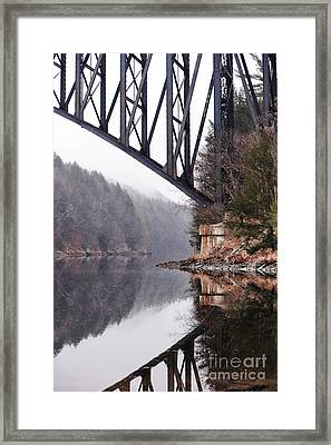 French King Bridge Framed Print by HD Connelly