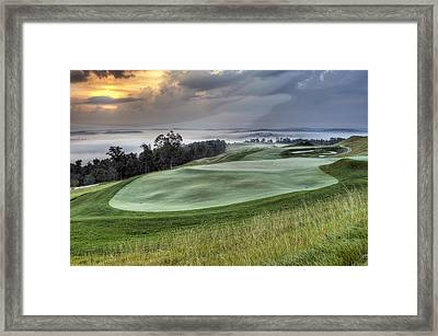 French Lick Resort Dye Course Framed Print by Ken  May