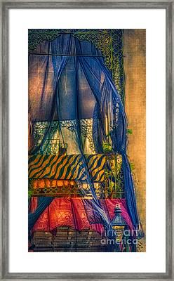 French Quarter Balcony  Framed Print by Kathleen K Parker