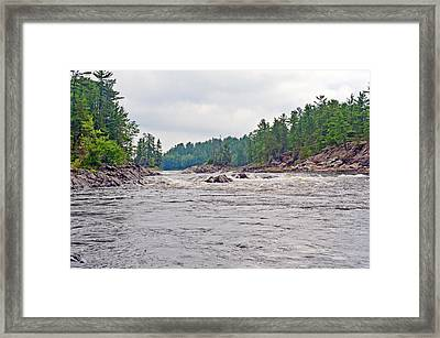 French River Ontario Canada Framed Print by Marek Poplawski