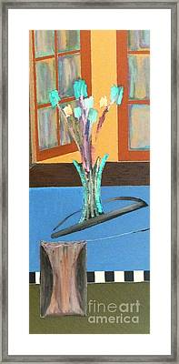Framed Print featuring the painting Fresh Flowers by Bill OConnor