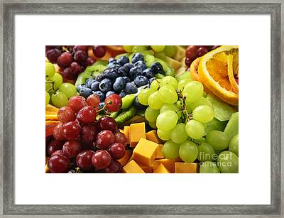 Fresh Fruits Framed Print by Elena Elisseeva