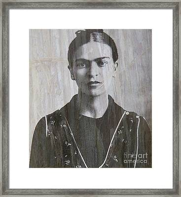 Frida In 1932 Framed Print by Patricia Januszkiewicz