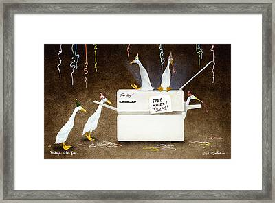 Fridays After Five... Framed Print