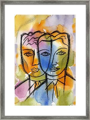 Friendship Framed Print by Leon Zernitsky