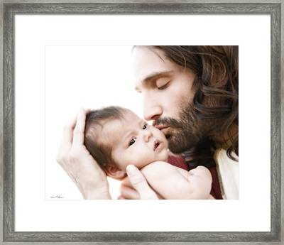 From His Arms To Ours Framed Print