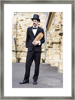 From The Cradle To The Grave Framed Print