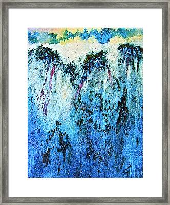 From The Edge Framed Print by Carolyn Rosenberger