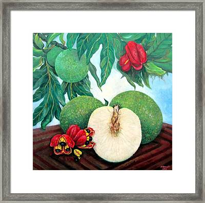 From Tree To Table Framed Print