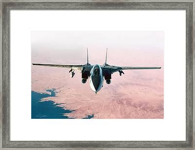 Front And Center Framed Print