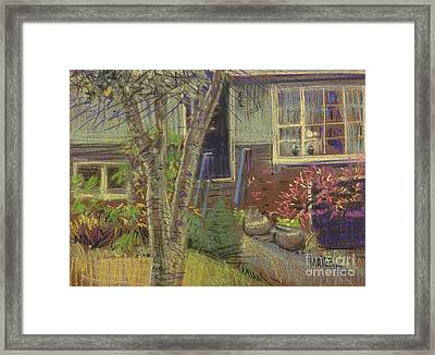Front Door Framed Print by Donald Maier