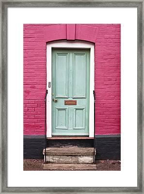 Front Door Framed Print