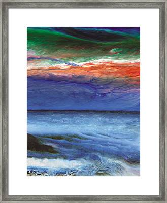 Frosty Wind Framed Print by The Art of Marsha Charlebois