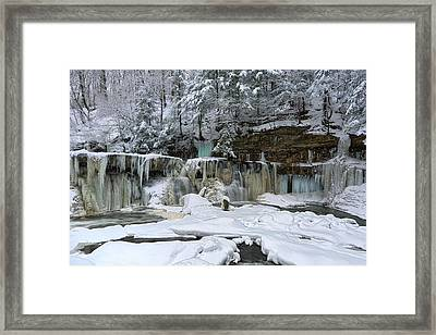 Frozen In Time Framed Print by Daniel Behm