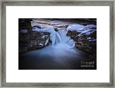 Frozen Splendor Framed Print