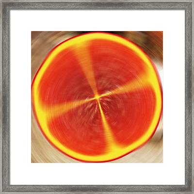 Fruchtig Framed Print