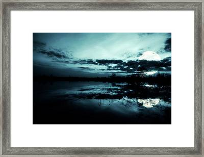 Full Moon Framed Print by Jaroslaw Grudzinski