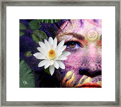 Full Moon Lakshmi Framed Print