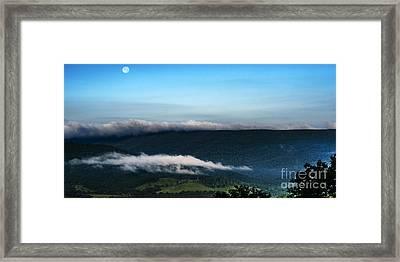 Full Moon  Framed Print by Thomas R Fletcher