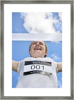 Fun Run Champion Framed Print by Jorgo Photography - Wall Art Gallery
