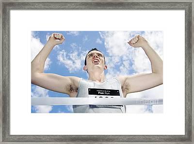 Fun Run Victor Framed Print by Jorgo Photography - Wall Art Gallery