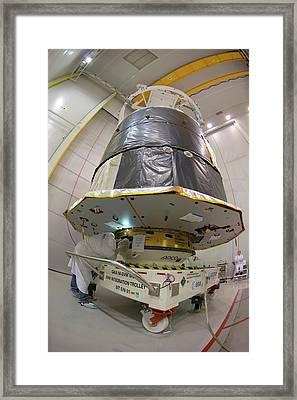 Gaia Space Probe Testing Framed Print by S Corvaja/european Space Agency