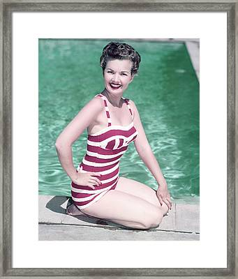 Gale Storm Framed Print by Silver Screen