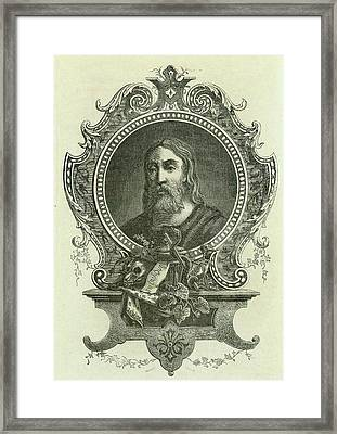 Galen Framed Print by Universal History Archive/uig