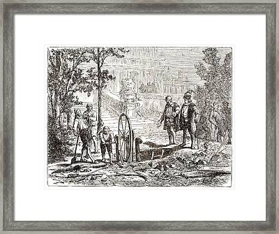 Galileo On Hydraulics Framed Print